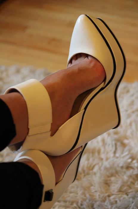 ALDO Shoes - Wedges n Ankle Cuffs - Perfection