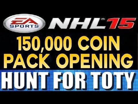 NHL 15 HUGE 150K Pack Opening **Hunt For TOTY Cards!!!**