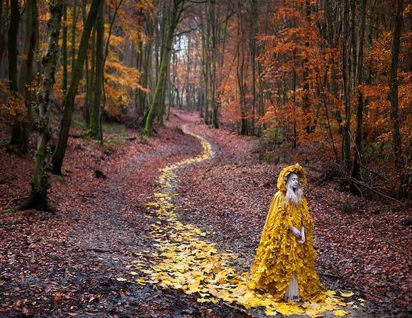 Whimsical Mother Nature Captures : photographer Kirsty Mitchell