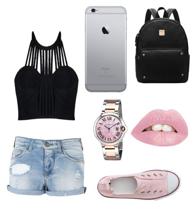 """""""Untitled #5"""" by brigike-toth on Polyvore featuring Armani Jeans and Cartier"""