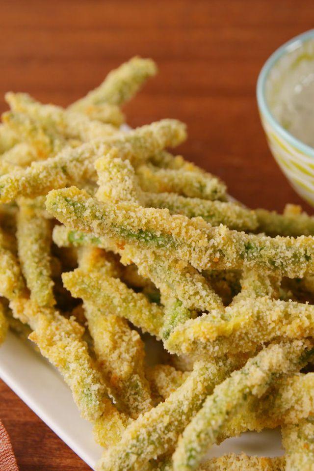 Crispy Green Bean Fries  - Delish.com