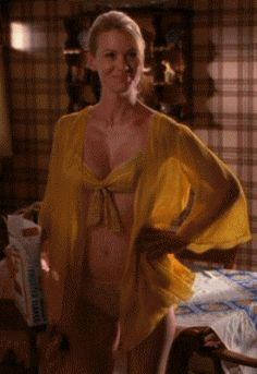 Jessica pare great tits in topless movie scene - 3 part 3