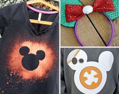 Wearable Disney Crafts DIY Clothes for Teens | How To Refashion Shirts by DIY Ready at  http://diyready.com/diy-clothes-for-teens/