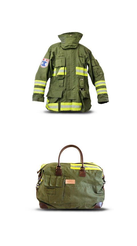 Viaggio SP is the rarest model among MODECO's popular travelling bags in fireman series. This exclusive SP series is made of firefighter's uniform with a city logo and cool pocket, which we can only obtain one from each uniform.