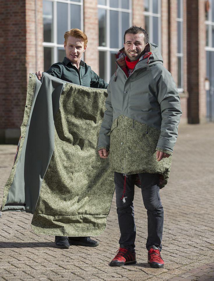 Il lato buono del Design: giacche/sacchi a pelo per i senza tetto sheltersuit foundation