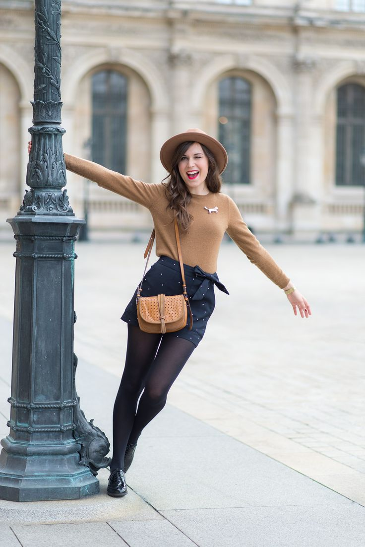 Blog-Mode-And-The-City-Look-Le-short-à-pois-6