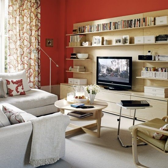 Colourful living room - Ideal Home