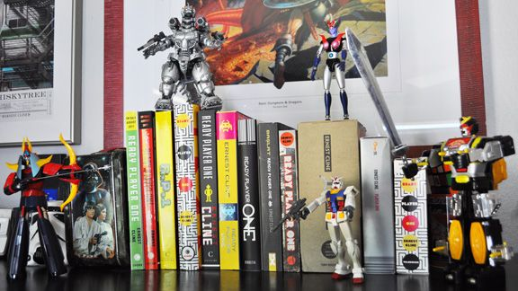 The giant robots of Ready Player One, one of my favorite novels. I need that Mecha Godzilla.