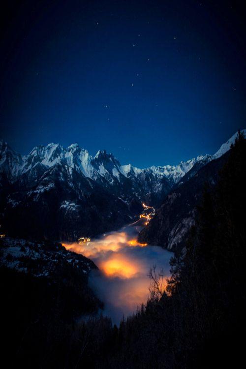Sea of Light, Valley di Susa, Italy