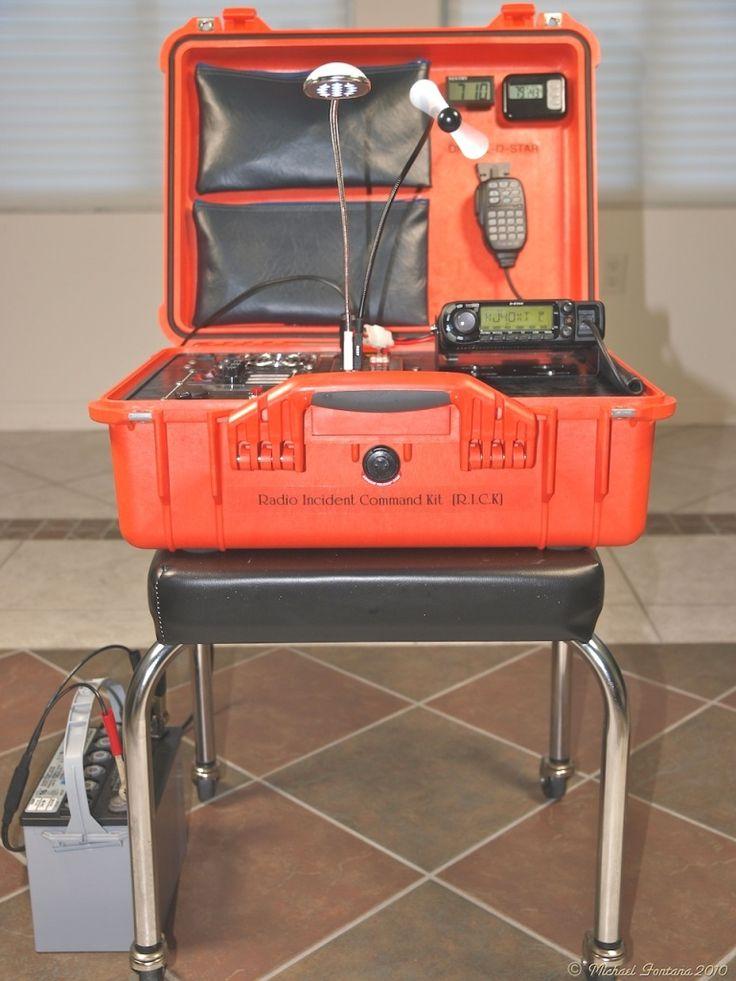 PORTABLE GO-KIT RADIO STATION