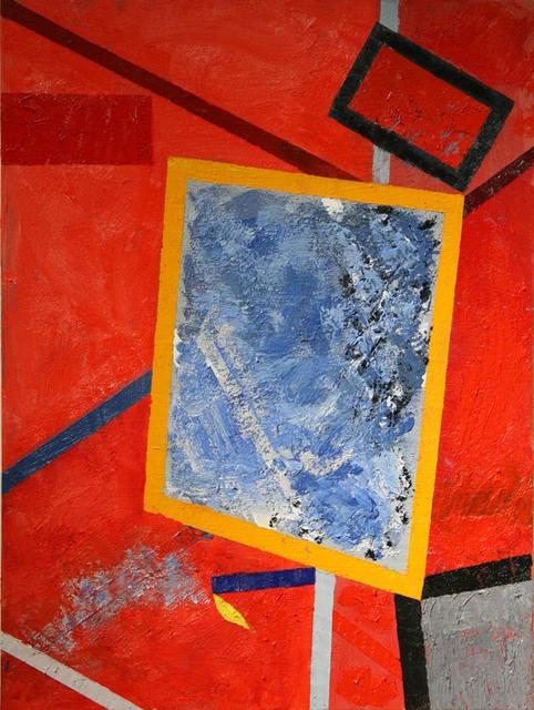 The Window Key, 2012, oil on canvas, 48 x 36 in. (121.92 x 91.44 cm), 4 x 3 ft., © Courtesy Corkin Gallery