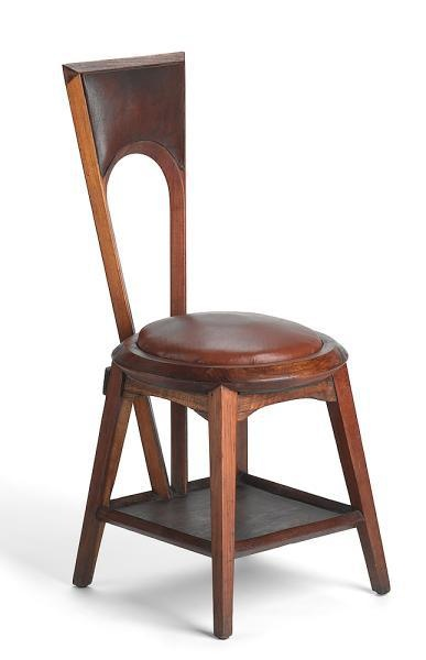 Walter Burley Griffen and Marion Mahony chair 1916