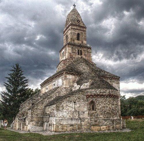 Densus Church, Hunedoara