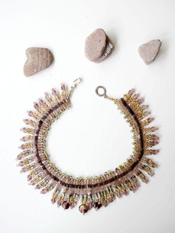 Mayan Queen // Tribal Beadwoven Jewellery in by Karakoncolos, $50.00