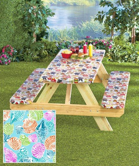 3 Pc Picnic Table Covers Bee Line Pinterest Picnic