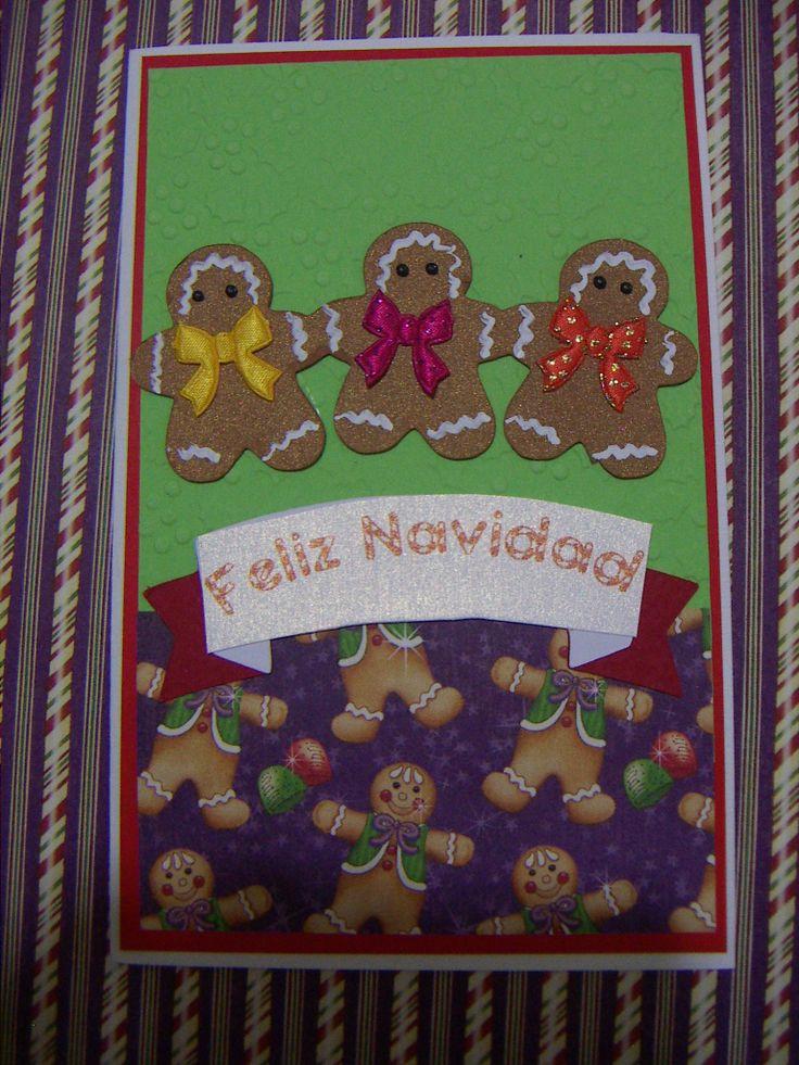 tarjeta dulce navidad