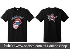 The Rolling Stones Tour of America 78 T-Shirt Two Side