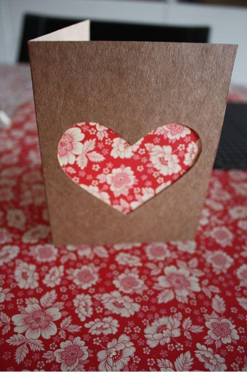 Cartões coração para convidados especiais