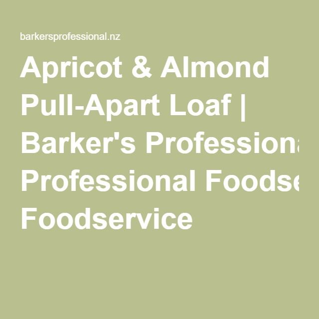 Apricot & Almond Pull-Apart Loaf | Barker's Professional Foodservice
