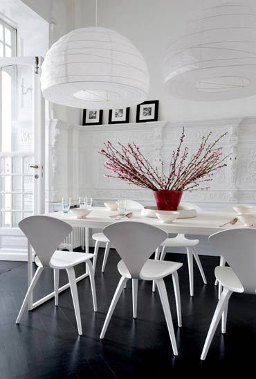 love the white cherner chairs