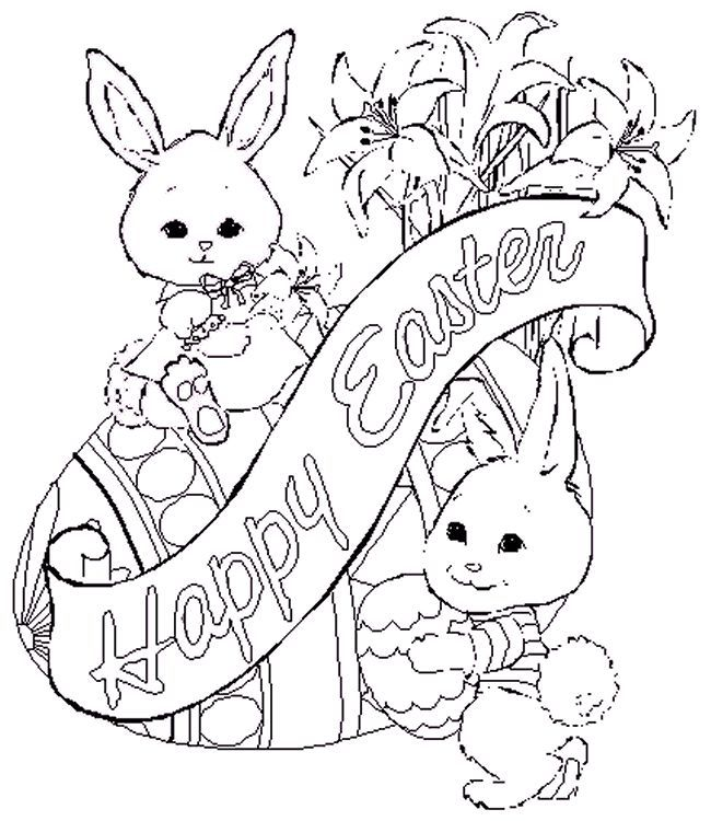 21 best Easter coloring Pages for Adults images on Pinterest