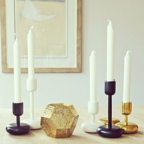Beautiful Nappula candle holders.