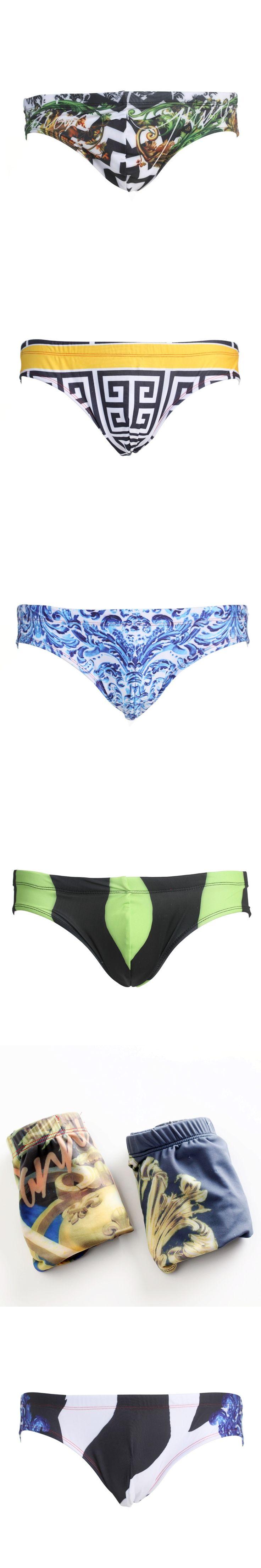 New Men's Swimming 2016 High-grade nylon pants Trunks For Mens Swimsuit Trunks Swimwear Men Low Waist Swim briefs