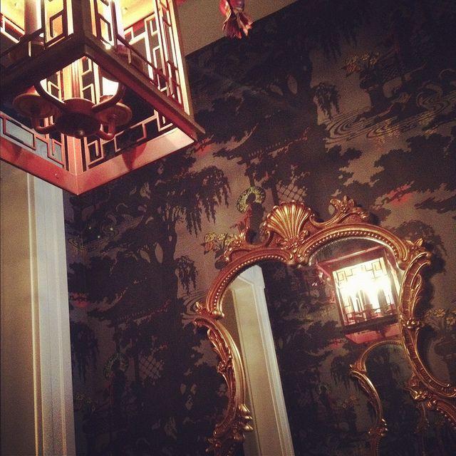SophisticatedInspiration Pics, Interiors Dramas, Mears Vestibule, Entrance Statement, Beautiful Interiors, Lights Wallpapers, Jamie Mears, Interiors Decor, Wallpaper Wal Colors