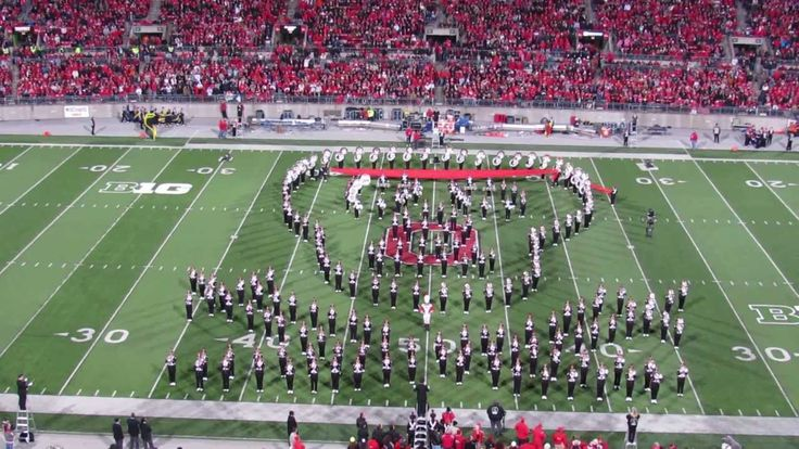 Ohio State Marching Band Hollywood  Blockbusters Halftime Show 10 26 201...