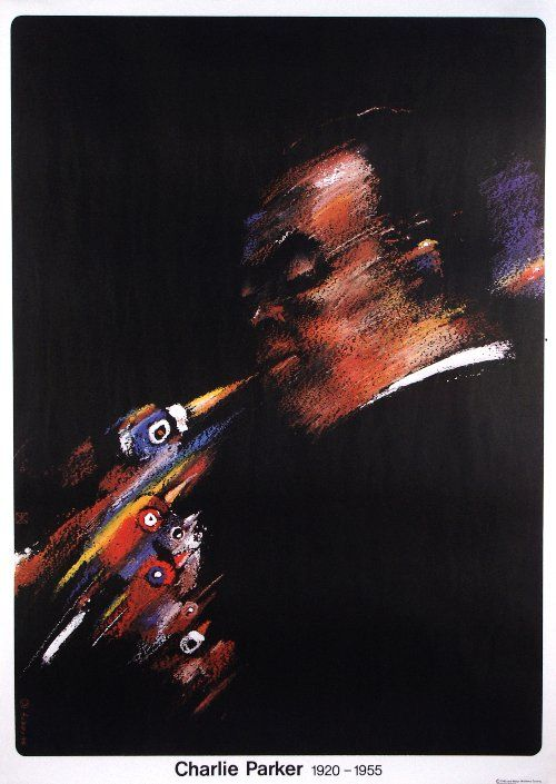 Poster Plakat Waldemar Świerzy Charlie Parker