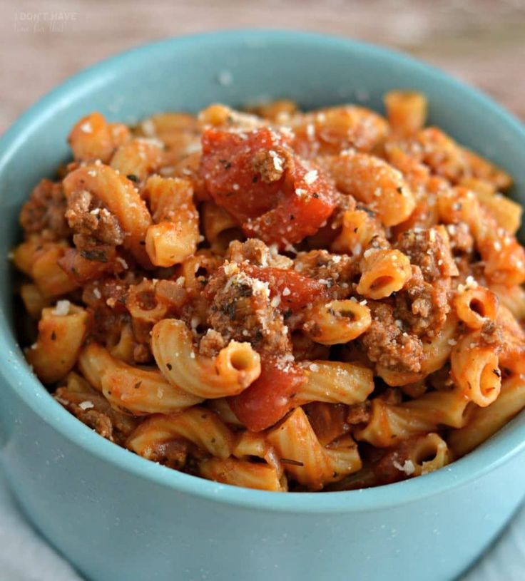 Instant Pot Goulash - I Don't Have Time For That!