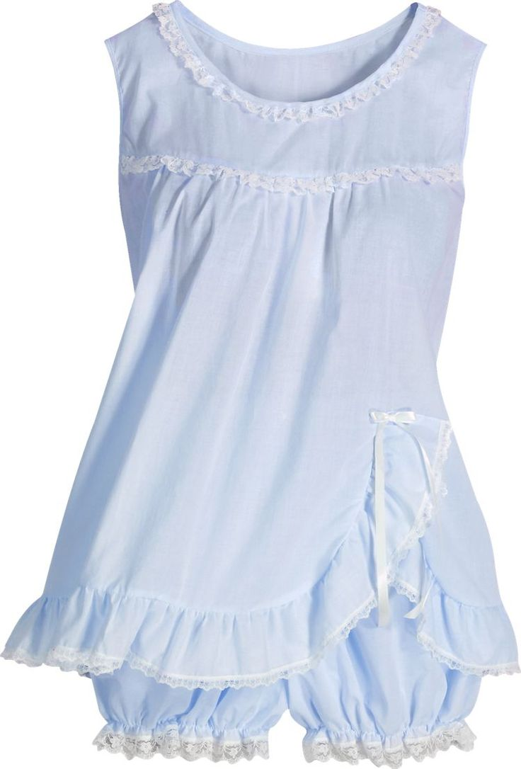 Baby Doll PJ's. The best for hot summer nights....I remember my mother bought me 2 sets when I was around 10. I had lime green and purple.
