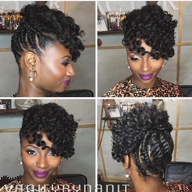 25 Beautiful Natural Hairstyles You Can Wear Anywhere Beautifulhairstyles Naturalhairstyles Cra Black Natural Hairstyles Long Hair Styles Natural Hair Updo