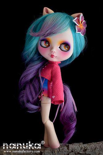 "Blythe My little Pony ""Tropical sunrise"" | da *NaNuKa*"