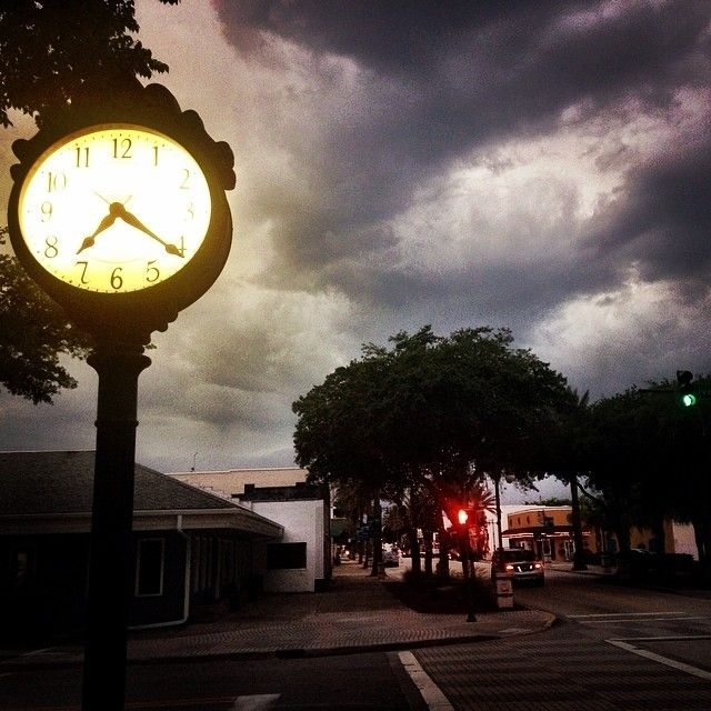 Double tap if you like this #picture  By: @mackanna . . Original Caption: Right before the rain storm this evening in old historic district of new Smyrna Beach . . #VolusiaPixel #Volusia #VolusiaCounty #Ocala #Florida #Delnd #NewSmyrna #Debary #PortOrange #OrangeCity #Daytona #DaytonaBeach #Pierson #HollyHill #PonceInlet #LakeHelen #OakHill #Edgewater #NSB