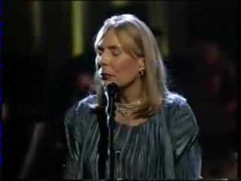 "Joni Mitchell - Both Sides Now    Masterpiece - the lyrics alone: WOW!      I noticed in the comment section to this song on Youtube that somebody wrote:    ""I once saw her live and she said that she felt that she'd lost possession of this song one day when she was in the supermarket and it was playing over the frozen-meat section.     With this version she has seriously reclaimed ownership!"""