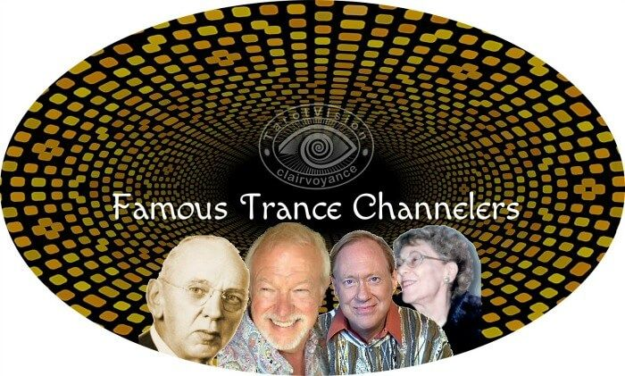 About Trance Channelers: Edgar Cayce - The Sleeping Prophet, Jach Pursel - Lazaris, Lee Carroll - Kryon, Helen Schucman - A Course in Miracles.