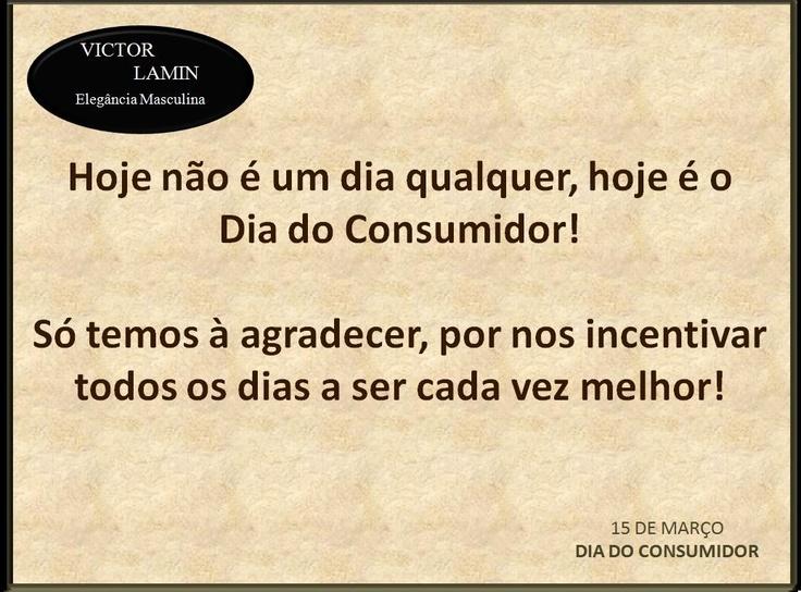 15 de Março- Dia do Consumidor