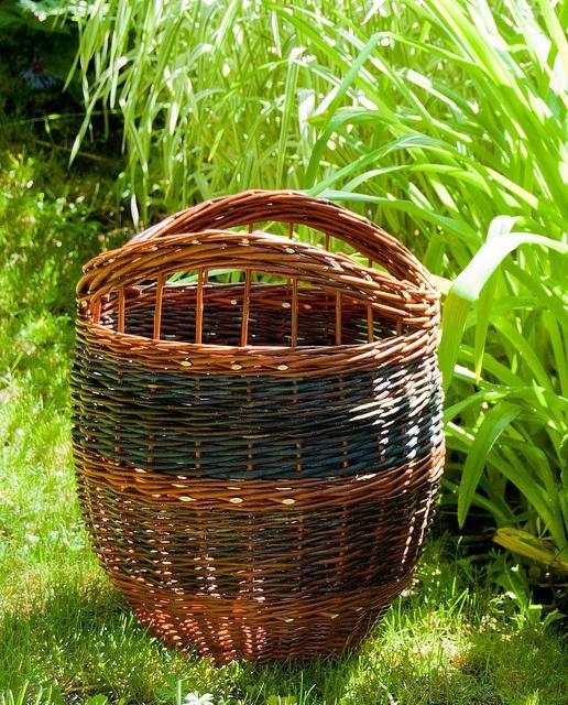 willow utility basket