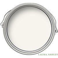 Laura Ashley Cotton White - Matt Emulsion Paint - 2.5L