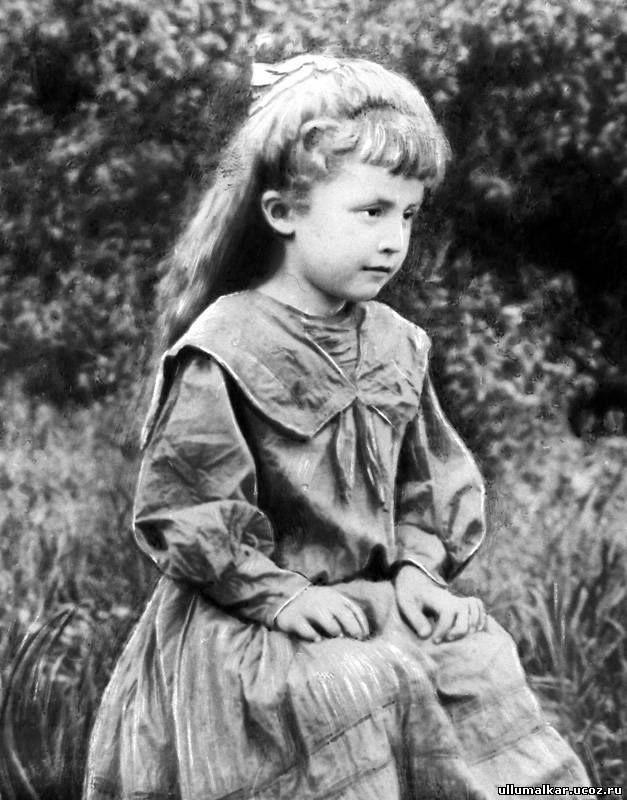 Little #Balkarian #princess #Abaeva Jeannette Misostovna (1900-1960) #photo