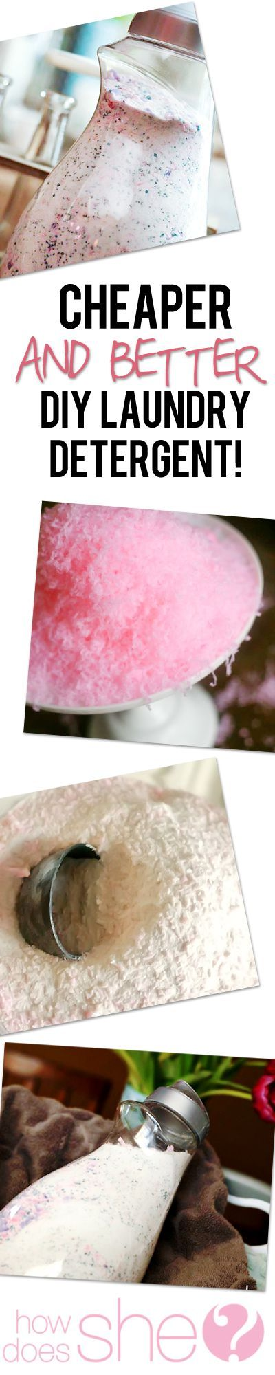 Cheaper AND Better! DIY Laundry Detergent that smells like HEAVEN!
