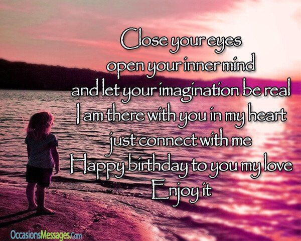 Https Www Occasionsmessages Com Birthday Happy Birthday Wishes From Far Away Birthday Message For Wife Happy Birthday Wishes Birthday Wishes For Lover