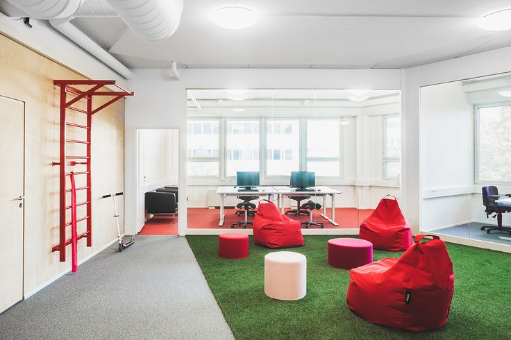 Office spaces for Innoflame, which is one of Finland's leading brand product companies.