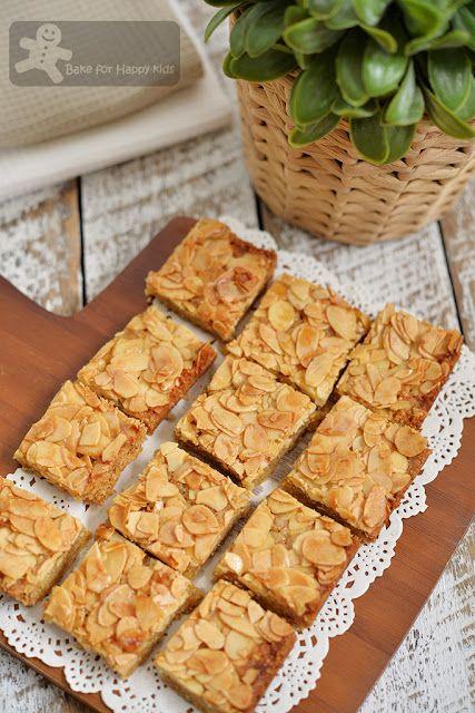 Bake for Happy Kids: Honey Almond Slices