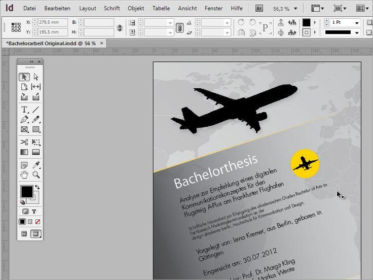 Professionelle Seminararbeiten gestalten: Das Titelblatt erstellen   InDesign-Tutorials.de