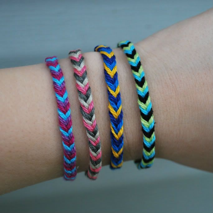 Hey Wanderer: the DIY: FASTEST FRIENDSHIP BRACELET EVER