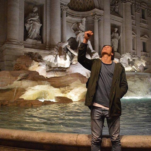 Trevi the fountain