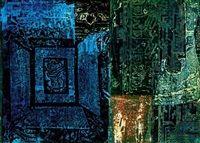 Kék labirintus Blue labyrinth par Lili Ország