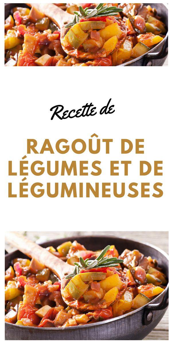 #ragout #légumes #Légumineuses #végétarien